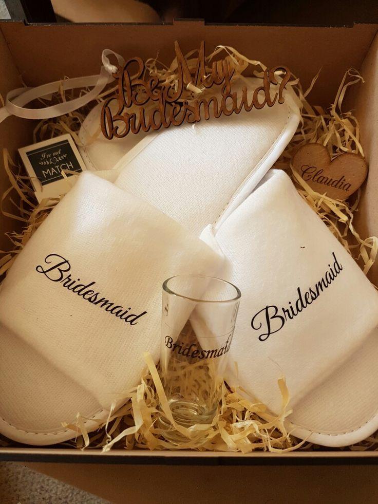 my bridesmaid gift box