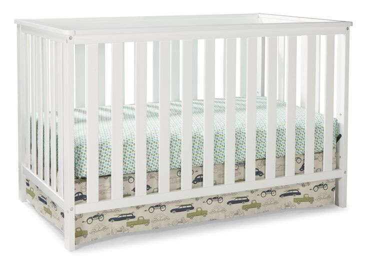 Showcasing contemporary style and clean lines, the Storkcraft rosland 3-in-1 convertible crib will complete your modern nursery. Simple yet elegant, the crib's low profile allows easy access to your baby during the early morning hours or afternoon feedings. The Rosland 3-in-1 convertible crib is versatile and designed to grow with your child as it features a three position adjustable mattress support and converts into a toddler bed (no guard rail) and daybed. Crafted from high quality pine…