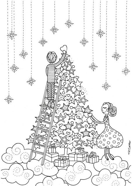 Coloring Pages Of Le Trees : 89 best libros para colorear adultos images on pinterest