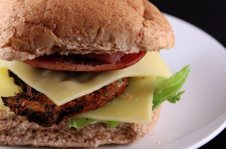 Cajun Chicken and Bacon Burgers. Slimming World friendly recipe, easy, healthy, delicious