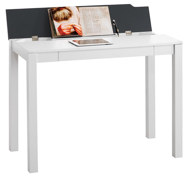 Saratoga Flip Up Desk White