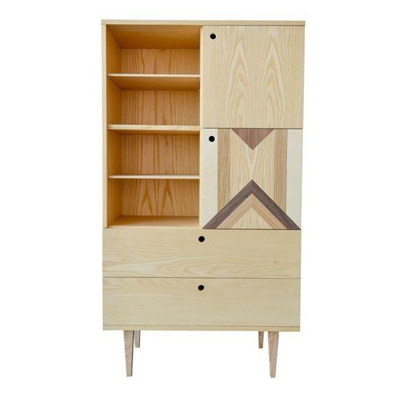 Regał PUZZLE marki Wood&Paper #ladnerzeczy #targirzeczyladnych #ladnerzeczydziejasiewinternecie #polishdesign #design
