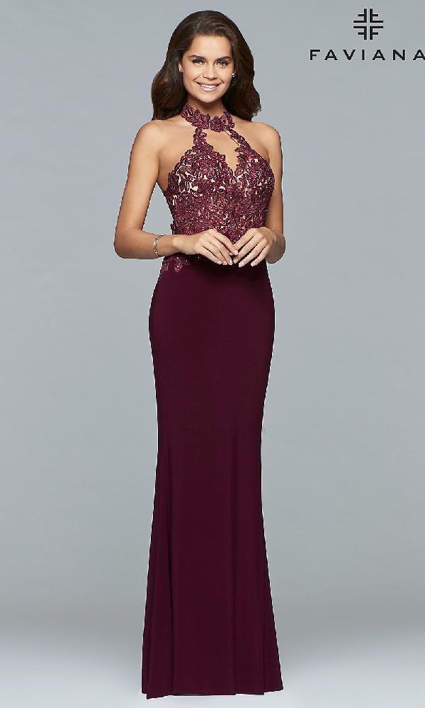 b558a8c5635 Faviana FA-7750 dress