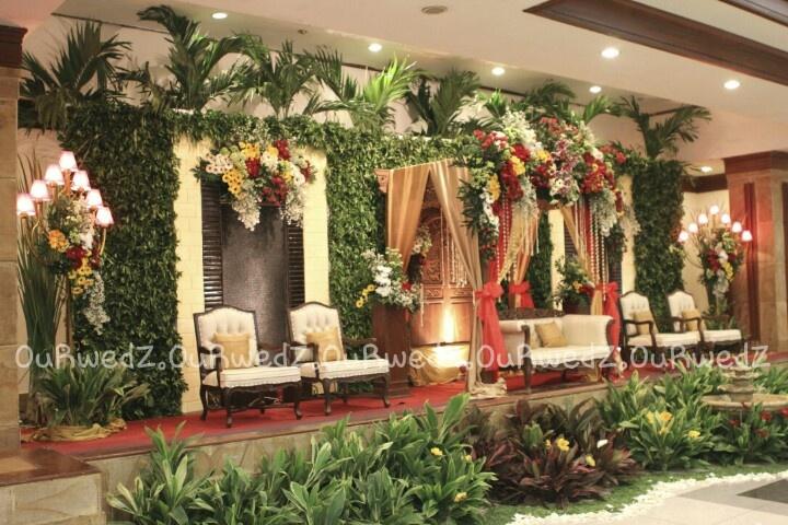 Javanese wedding decoration