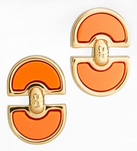 Tory Burch Magnus Post Earring: Accessories 3, Magnus Posts, Tory Burch, Jewelry Accessories, Burch Magnus, Earrings Toryburch, Toryburch Com, Posts Earrings, Orange Crush