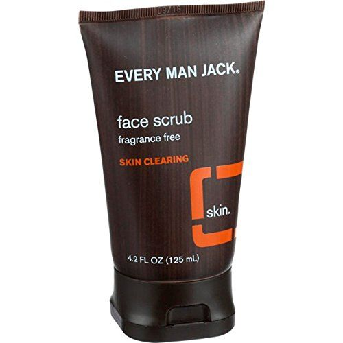 Every Man Jack Skin Clearing Face Scrub Fragrance Free 42 Fluid Ounce * Read more reviews of the product by visiting the link on the image.