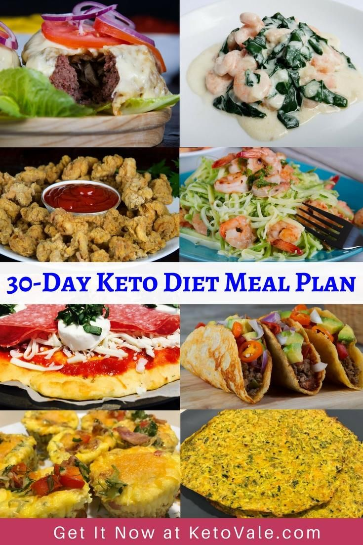 Free 30 Day Low Carb Ketogenic Diet Meal Plan Shopping