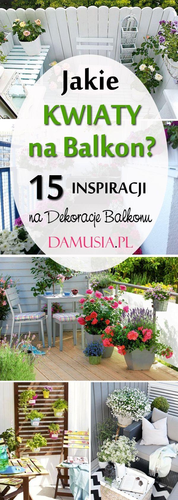 Jakie Kwiaty Na Balkon Top 15 Propozycji Na Dekoracje Balkonu Kwiatami Plants Places