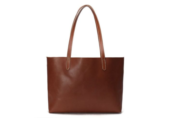 kiyoko basic leather tote bag