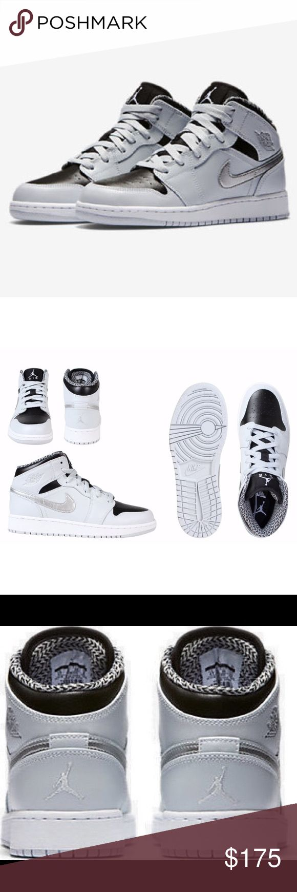 NIKE AIR JORDAN 1 WOMENS SIZE 8 METALLIC SHOES Shoes are a size 6.5 youth. Which is a women's size 8. I posted a sizing chart for your convenience. Brand new without box. 100% authentic Nike Shoes Sneakers