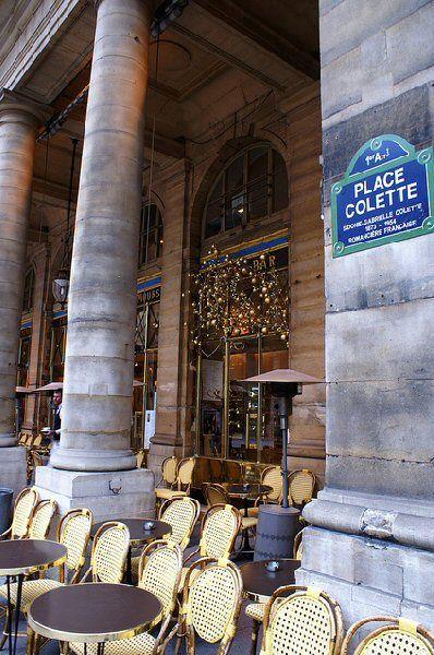 Le Nemours.  Café. Paris