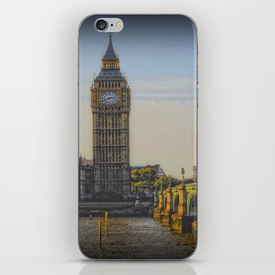 Big Ben iPhone & iPod Skin by AngelEowyn - $15.00