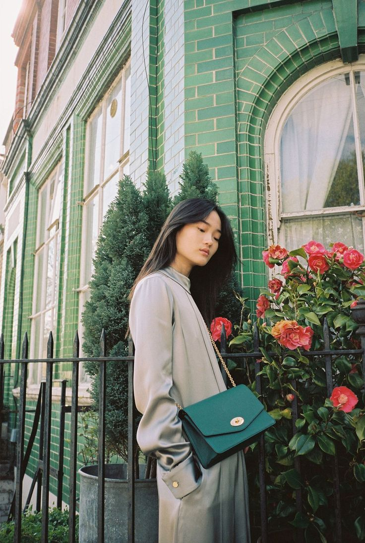 Vogue Mulberry Large Darley bag -Ocean Green @heidi_laura_