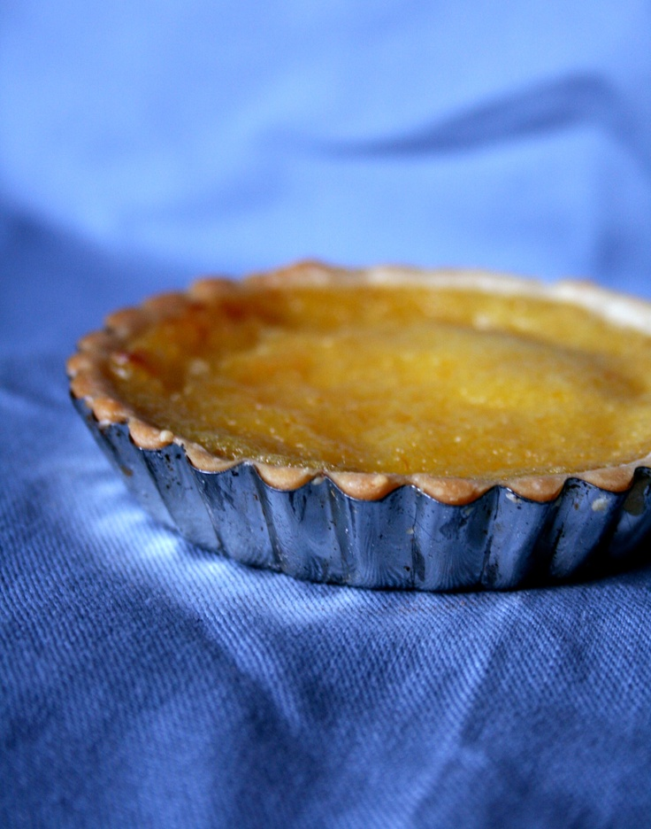 Tartelettes au citron meyer – recette corse