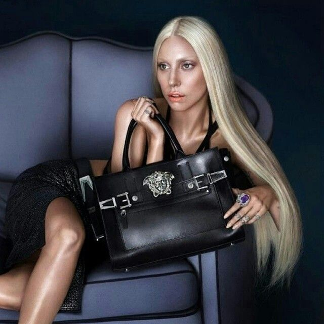 .lady gaga for versace campagin