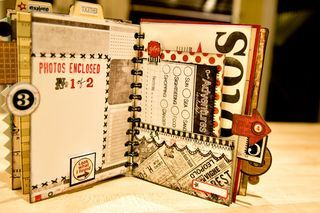 Travel Journal - could be great for setting/plot events of a novel