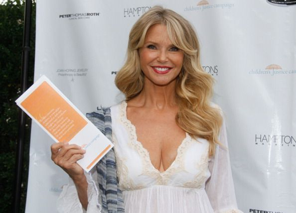 Christie Brinkley attends Hamptons Magazine Celebration of The Children's Justice Campaign of Joan and George Hornig 8/16/2014