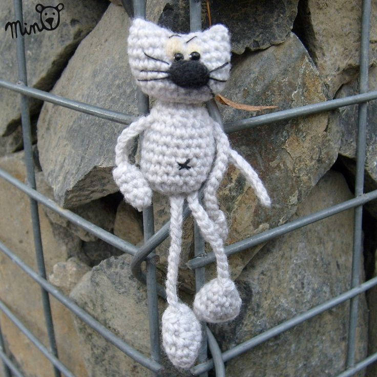 Amigurumi cat. (Inspiration. Pattern for sale but not in English).