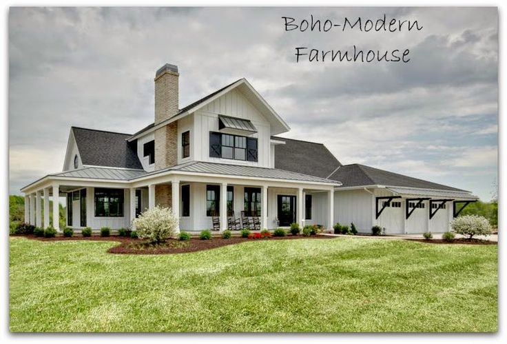 summerfield farmhouse plans outdoor living areas and modern farmhouse - Modern Farmhouse Plans