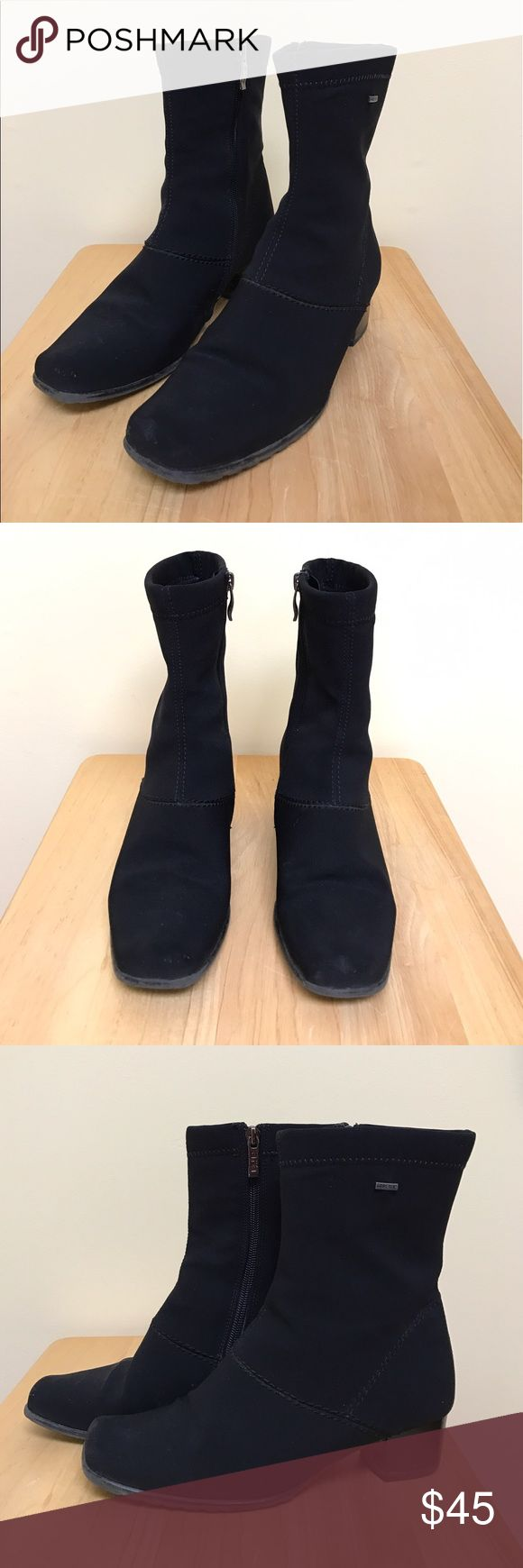 ara | goretex boots Cute, comfortable, and water-resistant boots by ara. Fit a size 7. Good pre-owned condition, minimal signs of wear. Ara Shoes Winter & Rain Boots