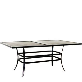 "Rec. Verandah Dining Table BY PARKER JAMES D 42"" W 74"" H 29""  Ancient Earth"