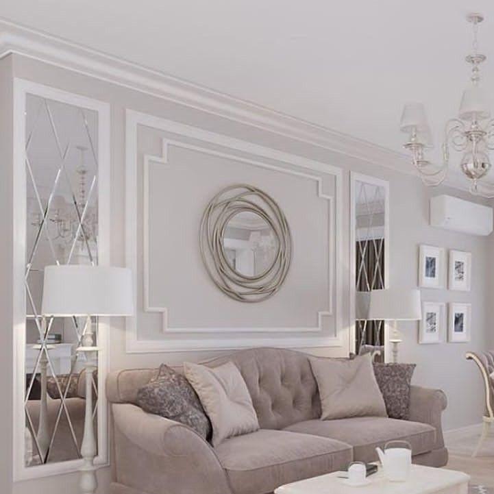 ديكورات مودرن مع براويز الفوم واوراك مع الزجاج والجبس مودرن Living Room Decor Room Decor Home
