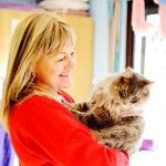 One of your hosts, Julie! Cat cuddles, cattery outer eastern melbourne, cat boarding melbourne