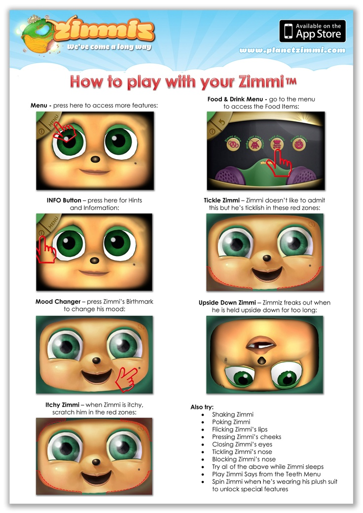 How to play with Zimmi !