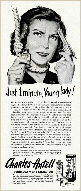 Bad vintage ads