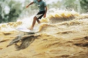 Surfing in the Amazon