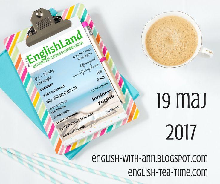 EnglishLand - wydanie 4 - jolenewyznaje.pl Wyznania Młodego Nauczyciela.19 maja 2017 ukazał się kolejny EnglishLand! Ponownie mogłam współtworzyć to wydanie