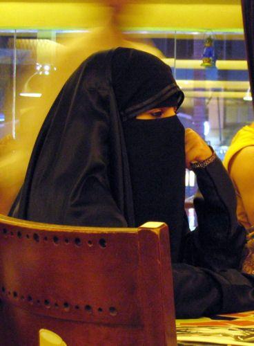 Niqab with Overhead Abaya