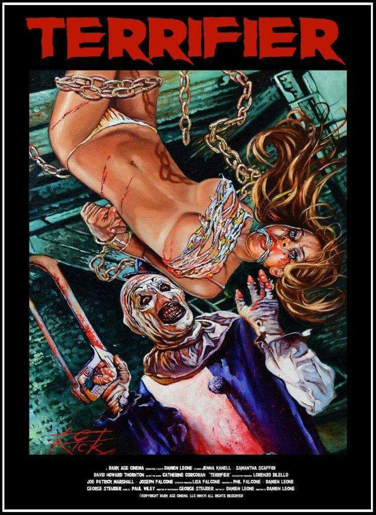 TERRIFIER Horror Movie Slasher 2016 Art By Rick Melton
