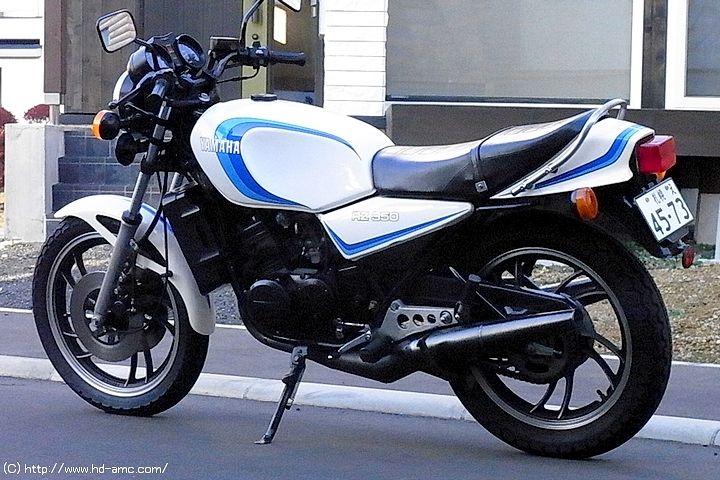 Yamaha RZ350 | Moto Data Japan