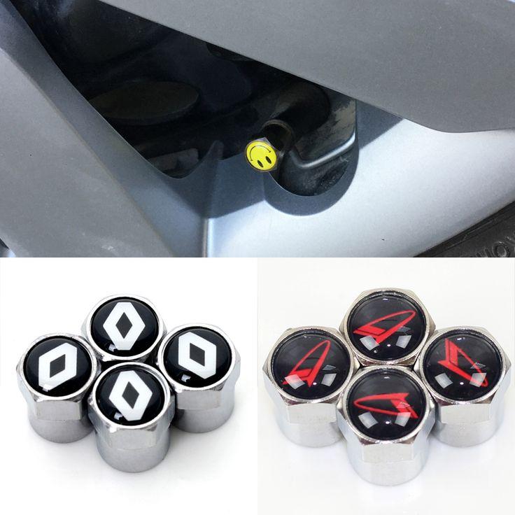 4 pcs/ensemble Cas pour Renault duster megane 2 logan renault clio Daihatsu D-R PICO moto noir De Carbone voiture de couverture de voiture style