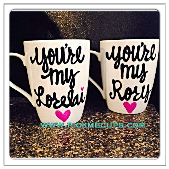 Gilmore Girls Mugs  You're My Lorelai  You're my Rory  Rory and Lorelai by PickMeCups