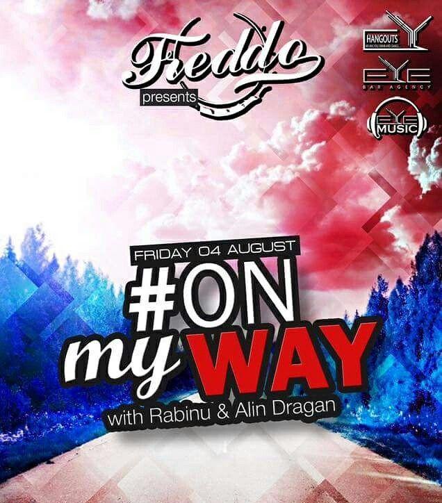 TONIGHT!!! 22:30, #ONmyWAY with Dj Rabinu & Dj. Dragan Alin at Freddo Bar & Lounge.🔝🎧🍾✔ #Eyemusic #Eyebaragency #Dj #RABINU #AlinDragan #Freddo #Smardan24