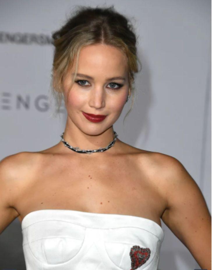 Jennifer Lawrece asistió a la premier de su nueva película luciendo como una verdadera princesa