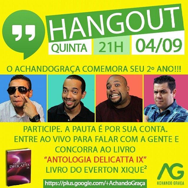 Hangout do Achando Graça - 04/09/2014