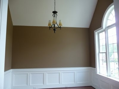 I would love to do something like this in my bedroom! popular Sherwin Williams paint   colors