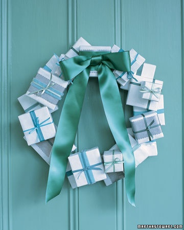 #gift #box #wreath