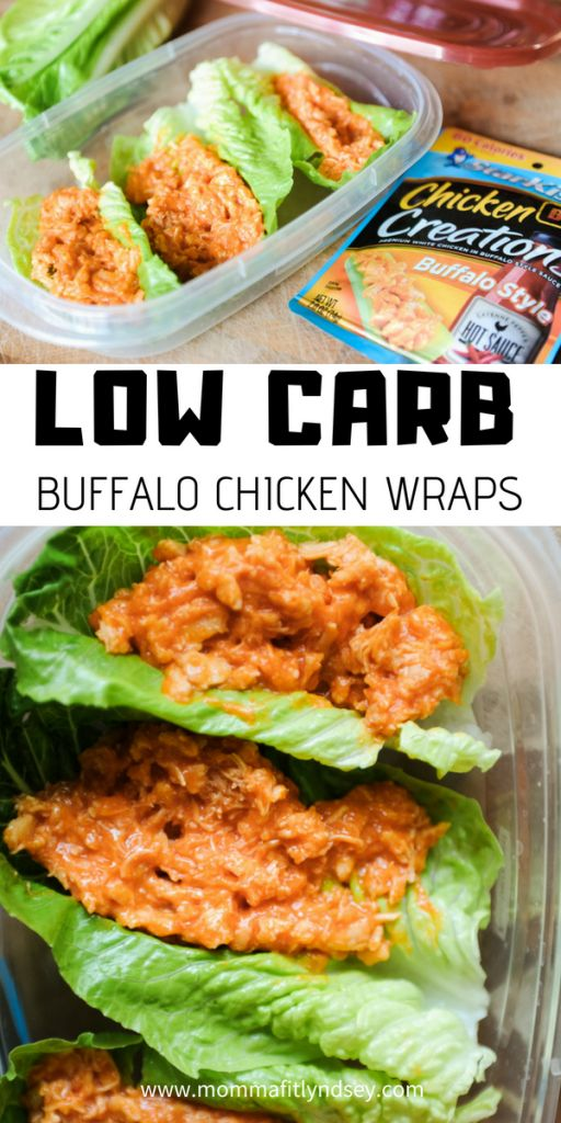 Low Carb Lunch On-the-Go {Starkist Chicken Creations