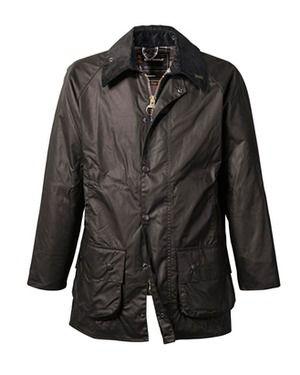 Wachsjacke Beaufort (schwarz) von Barbour - Jacken & Mäntel - Bekleidung - Herrenmode Online Shop - Frankonia.de