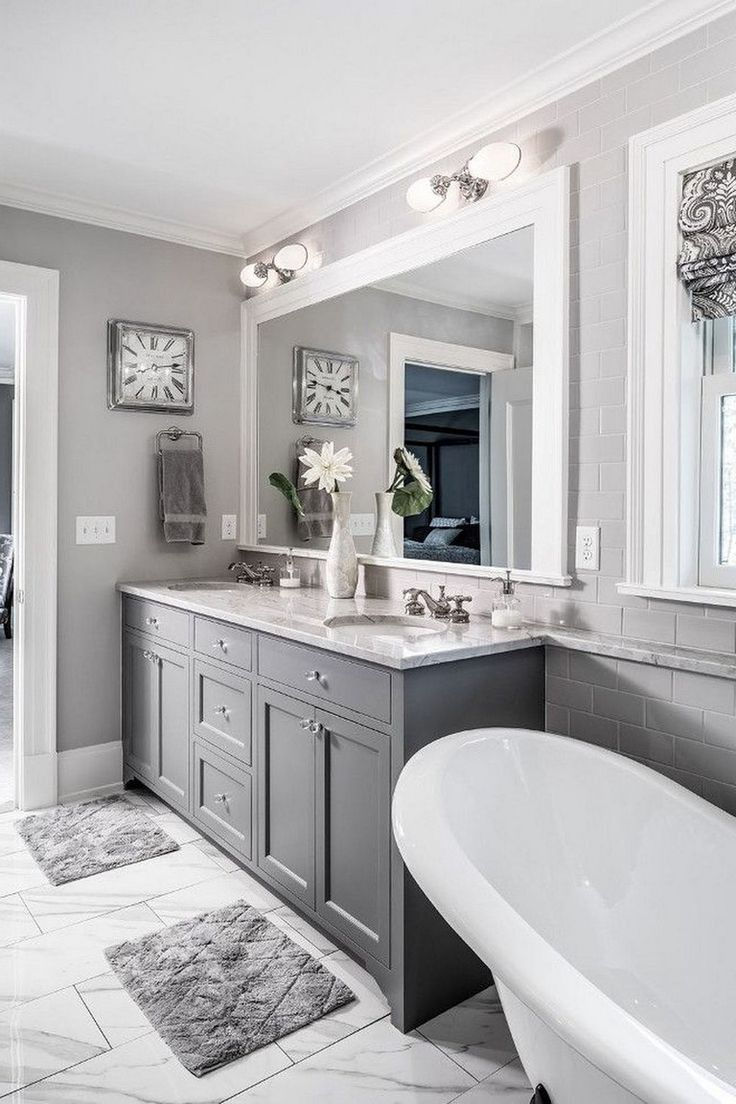 45+ wonderful bathroom cabinet paint color ideas - page 2