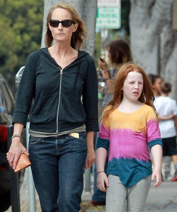 Helen Hunt with daughter Makena'lei