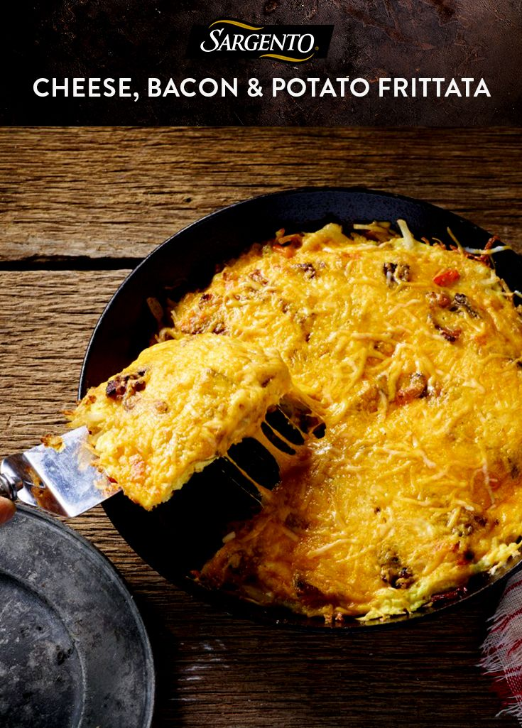 Bacon, eggs, potatoes…bacon. And a hearty amount of Sargento Shredded Taco and Nacho Cheese. Now that's a zesty breakfast idea we can sink our teeth into. See the full recipe on Sargento.com.