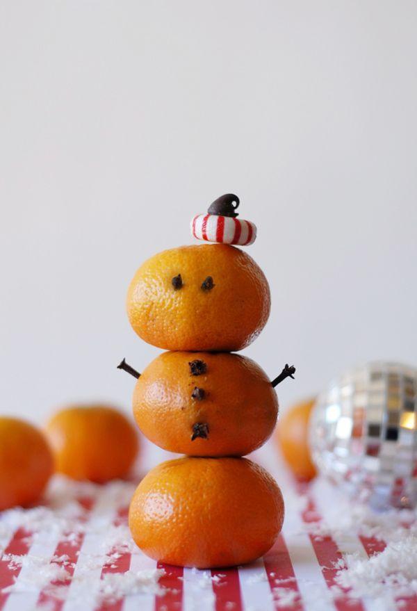 Orange Snowman @Pascale Lemay Lemay De Groof