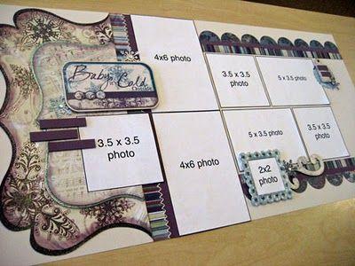Allison Davis - 8 photo, double page layout