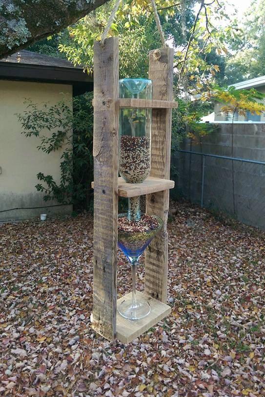 Best 25 diy wine bottle bird feeder ideas on pinterest for Unique homemade bird feeders