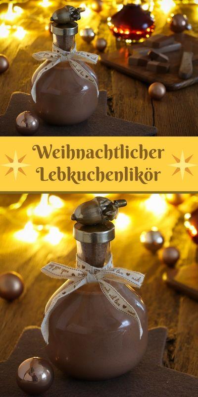 Weihnachtlicher Lebkuchenlikör